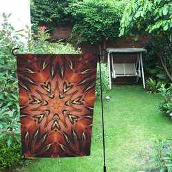 Flaming Feather Kaleidoscope Garden Flag 12''x18''(Without Flagpole)