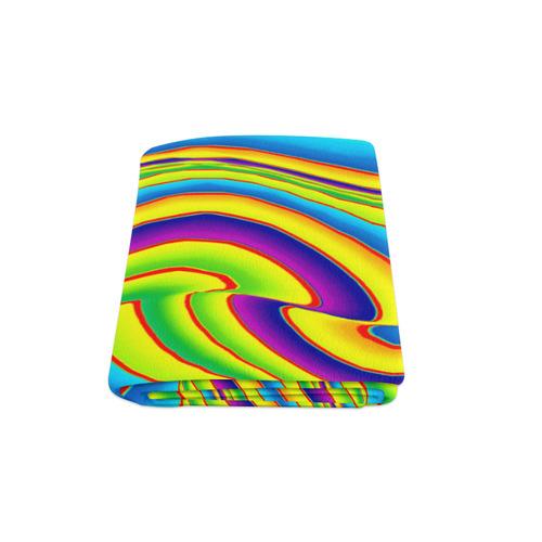 "Summer Wave Colors Blanket 58""x80"""