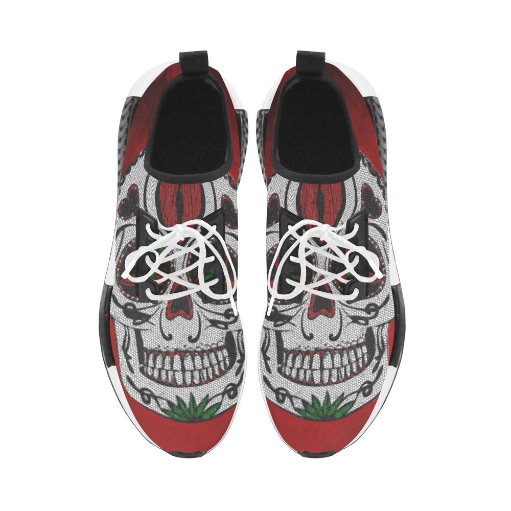 Skull20170316_by_JAMColors Women's Draco Running Shoes (Model 025)