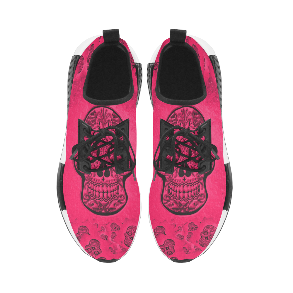 Skull20170266_by_JAMColors Women's Draco Running Shoes (Model 025)