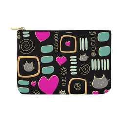 Love Cats Carry-All Pouch 12.5''x8.5''