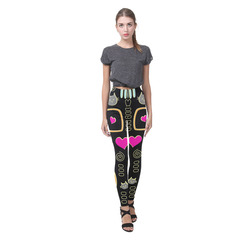 Love Cats Cassandra Women's Leggings (Model L01)
