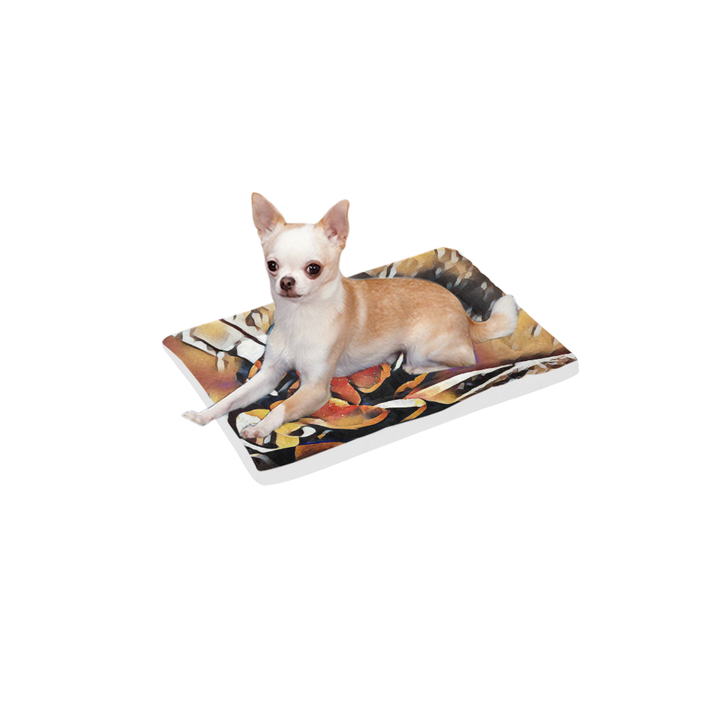"""FineArt Colorful Tulip Pet Bed 18""""x12"""""""