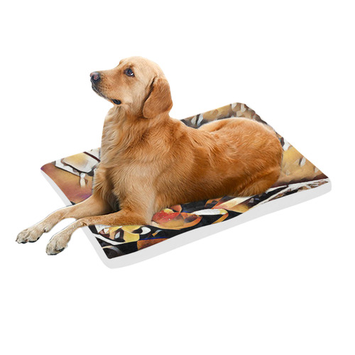 "FineArt Colorful Tulip Pet Bed 36""x23"""