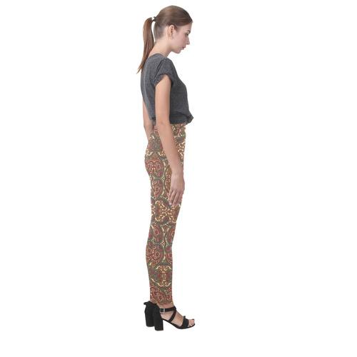 Shiny Rhinestones Cassandra Women's Leggings (Model L01)
