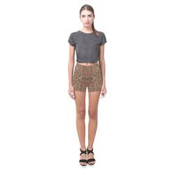 Shiny Rhinestones Briseis Skinny Shorts (Model L04)