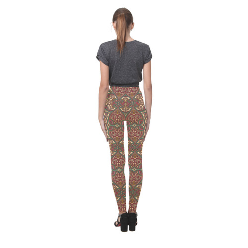 Shiny Rhinestones Cassandra Women's Leggings (Model L01)