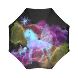 Ghost Unicorns Foldable Umbrella (Model U01)
