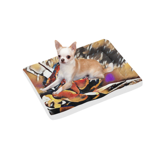"FineArt Colorful Tulip Pet Bed 30""x21"""