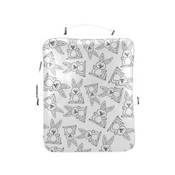 Bunny Pattern Square Backpack (Model 1618)