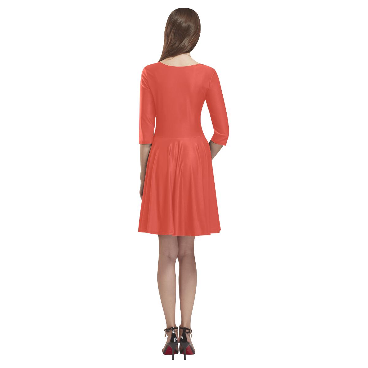 Fiesta Tethys Half-Sleeve Skater Dress(Model D20)
