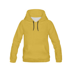 Lemon Curry All Over Print Hoodie for Women (USA Size) (Model H13)