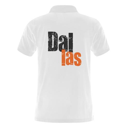 Dallas by Artdream Men's Polo Shirt (Model T24)