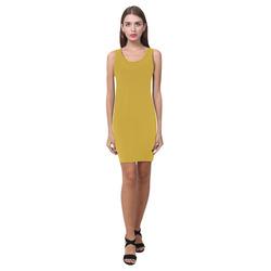 Lemon Curry Medea Vest Dress (Model D06)