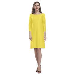 Buttercup Rhea Loose Round Neck Dress(Model D22)