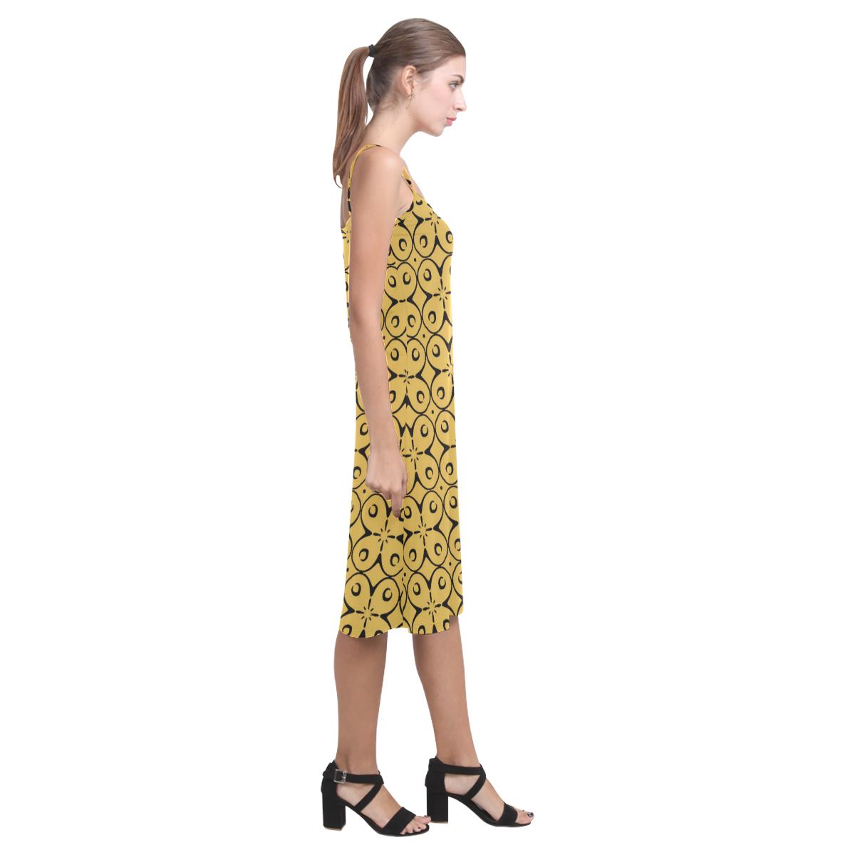 My Lucky Day Spicy Mustard Alcestis Slip Dress (Model D05)