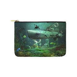 Awesome submarine with orca Carry-All Pouch 9.5''x6''