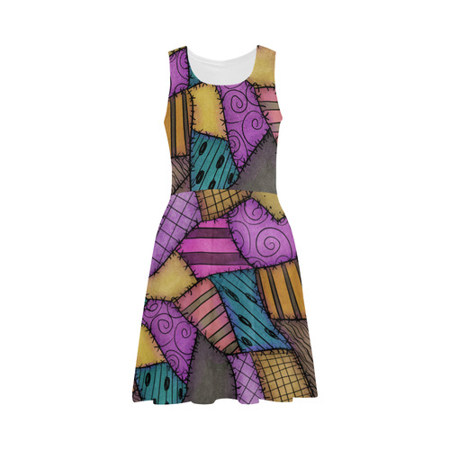 Patchwork Scraps Atalanta Sundress (Model D04)