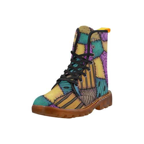 Patchwork Scraps Martin Boots For Women Model 1203H