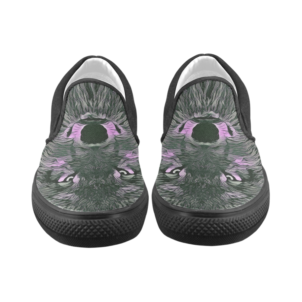 LADY WOLF Slip-on Canvas Shoes for Kid (Model 019)