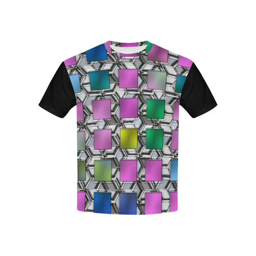QUADROS Kids' All Over Print T-shirt (USA Size) (Model T40)
