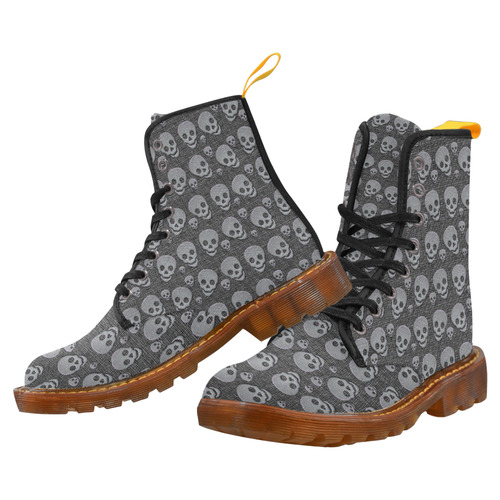 SKULLS Martin Boots For Women Model 1203H