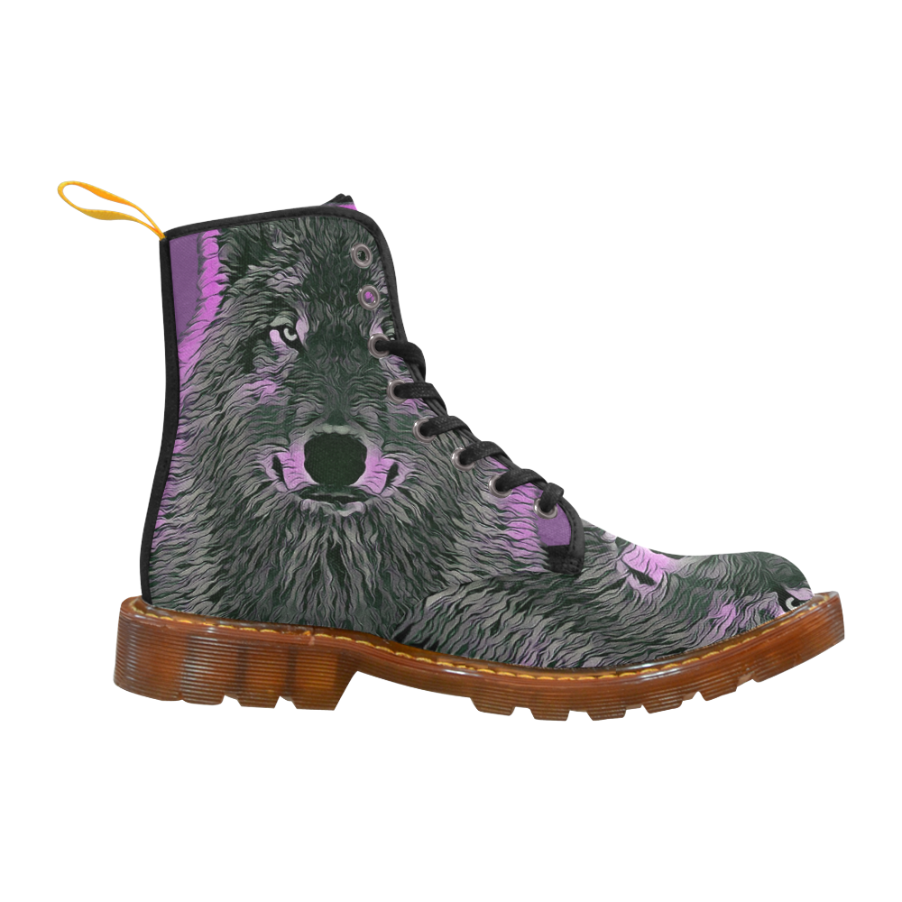 WOLF PINK Martin Boots For Women Model 1203H