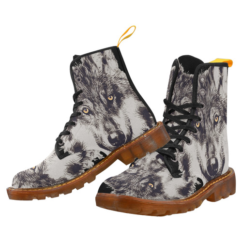 WOLF GREY Martin Boots For Men Model 1203H