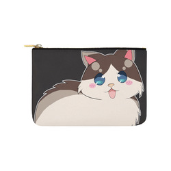 Ragdoll Cat for Life Carry-All Pouch 9.5''x6''