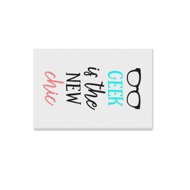 """Geek Chic Canvas Print 12""""x18"""""""