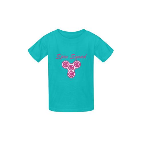 Spin Squad Madilyn Kid's  Classic T-shirt (Model T22)