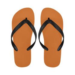Autumn Maple Flip Flops for Men/Women (Model 040)
