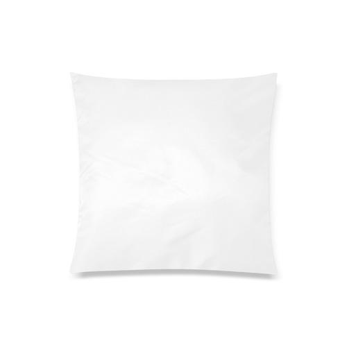 "Pink Green White Chevron Custom Zippered Pillow Case 20""x20""(One Side)"