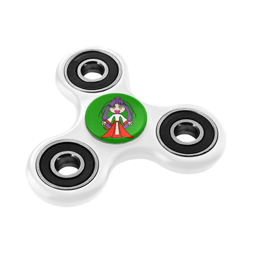 Anime Girl Fidget Spinner