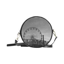 Ferris Wheel Round Sling Bag (Model 1647)