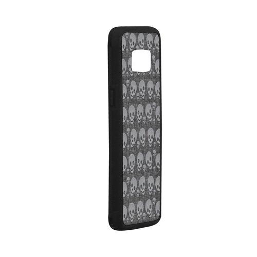 SKULLS Rubber Case for Samsung Galaxy S8