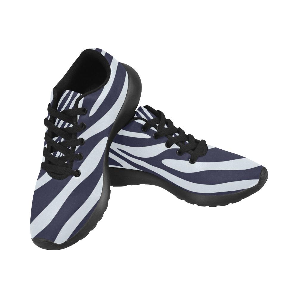 ZEBRA TEXTURE Women's Running Shoes (Model 020)