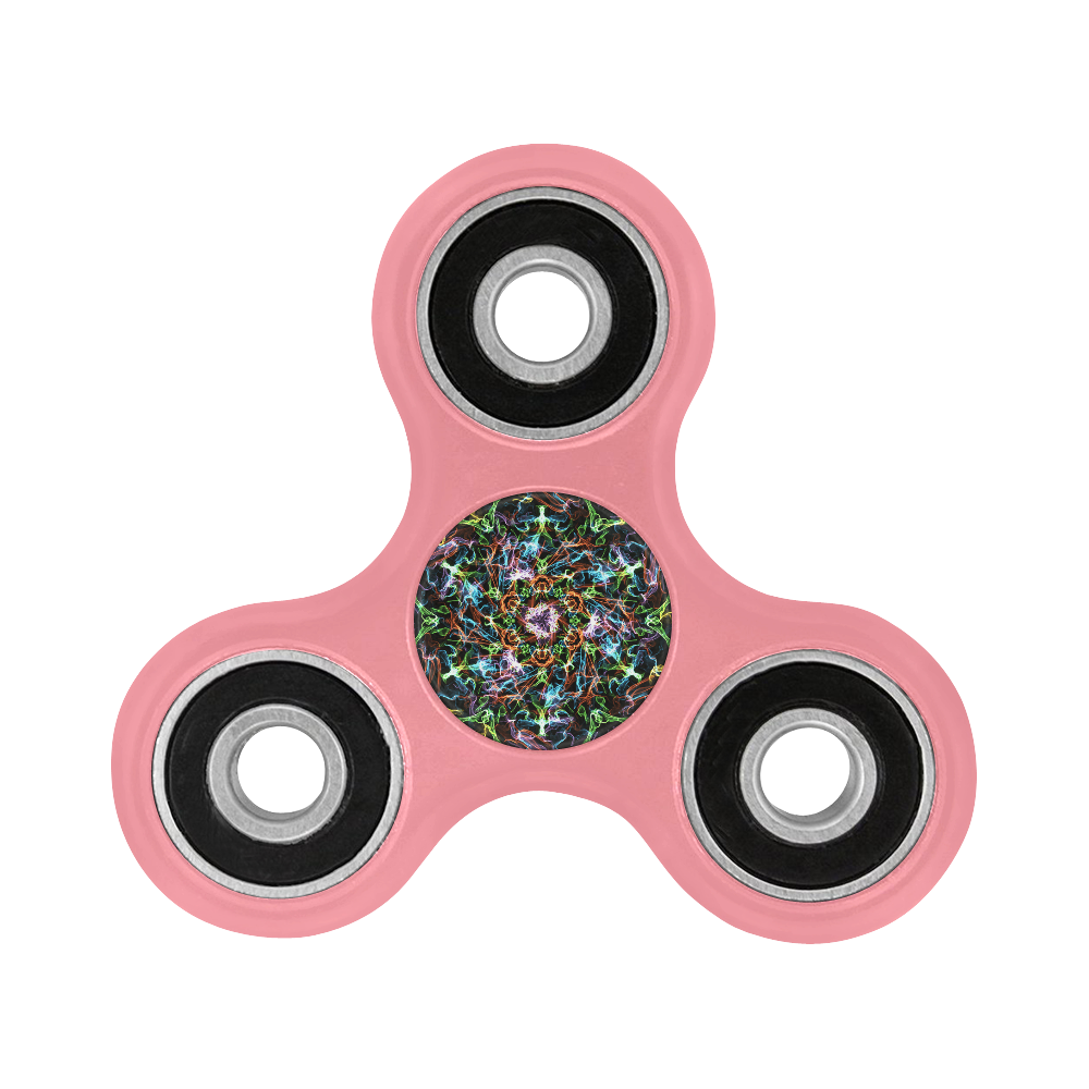black mandala -energy 2 Fidget Spinner