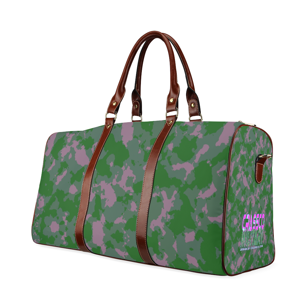 CAMOUFLAGE MILITARY Waterproof Travel Bag/Large (Model 1639)