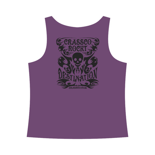 SKULL DESTINATION All Over Print Tank Top for Women (Model T43)