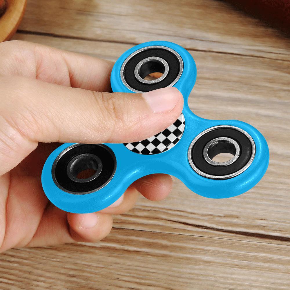 checkered Fidget Spinner