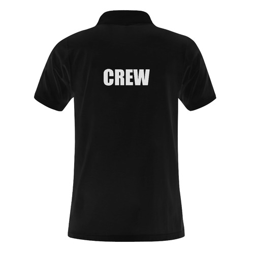 Crew Polo Men's Polo Shirt (Model T24)