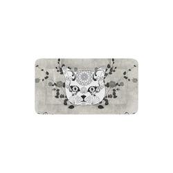 "Wonderful sugar cat skull Pet Bed 24""x13"""