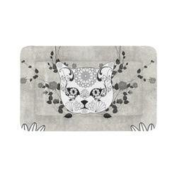 "Wonderful sugar cat skull Pet Bed 48""x30"""