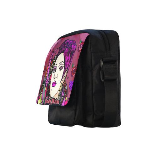 Andy Maine Popart by Nico Bielow Crossbody Nylon Bags (Model 1633)