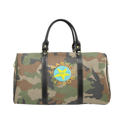 TRAVEL CRASSCO CAMOUFLAGE New Waterproof Travel Bag/Small (Model 1639)