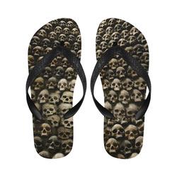 Chinelo Skull wall Flip Flops for Men/Women (Model 040)