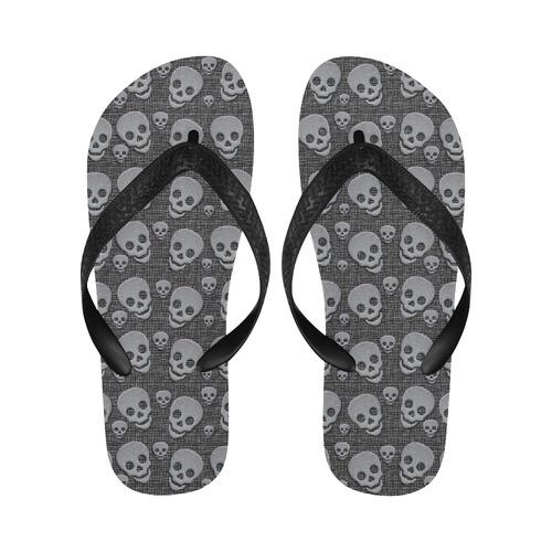 SKULLS BY CRASSCO Flip Flops for Men/Women (Model 040)