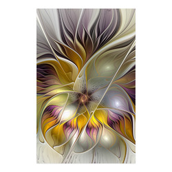 """Abstract Colorful Fantasy Flower Modern Fractal Poster 23""""x36"""""""