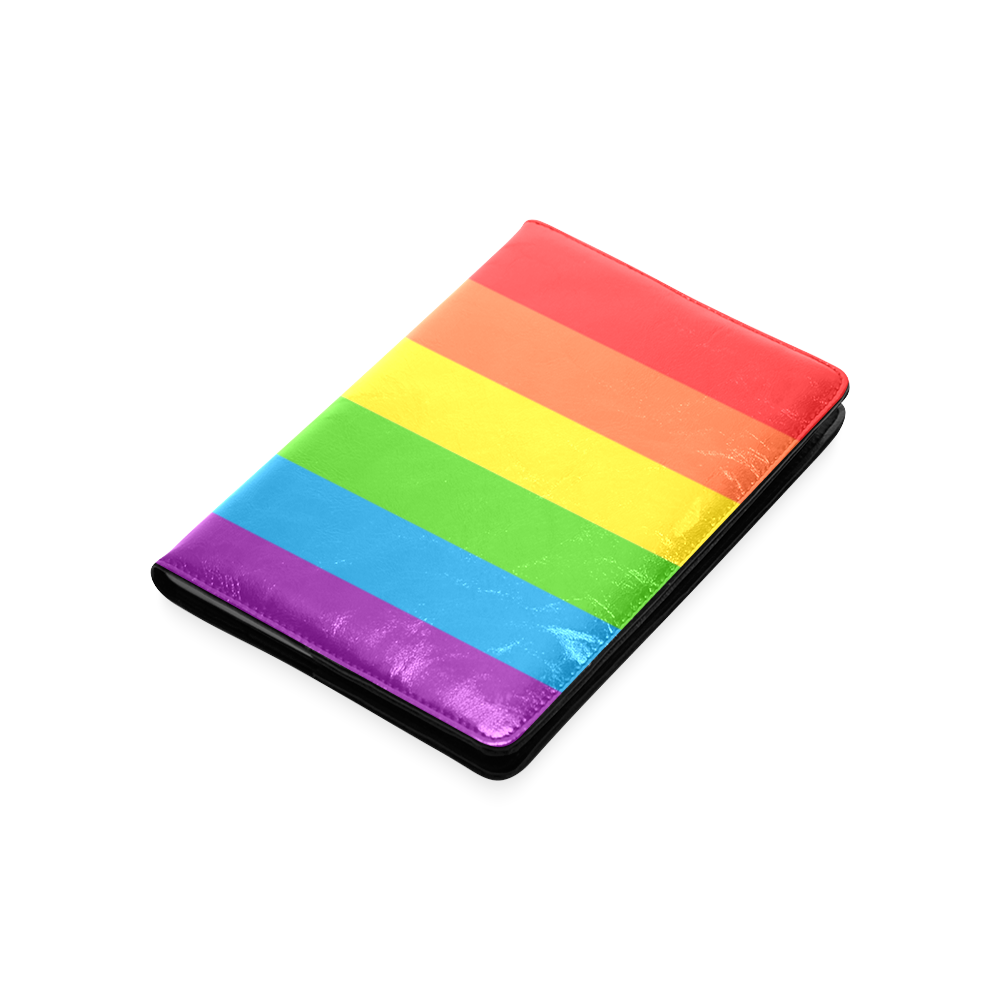 Rainbow Stripes Custom NoteBook A5